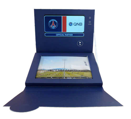 Imprimé Video® Psg • Coffret photos A5 3 volets